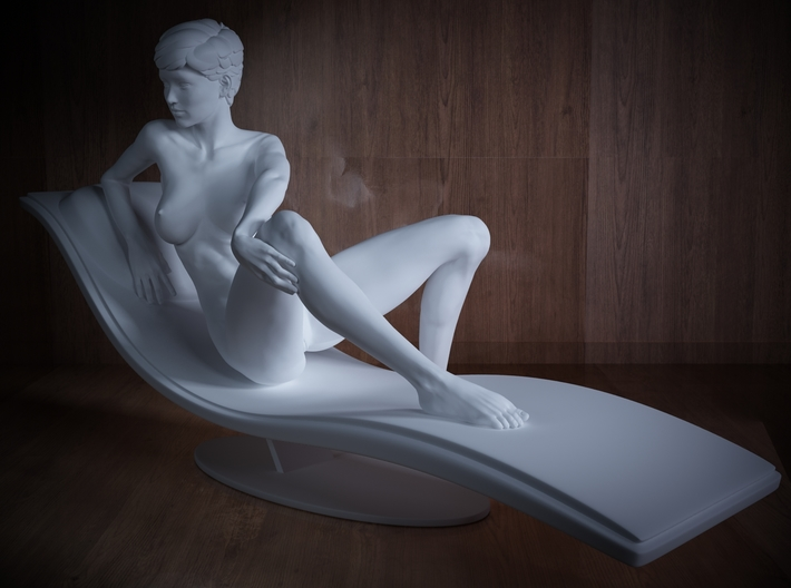 1/32 Girl sitting Chair Part of Girl 020 3d printed