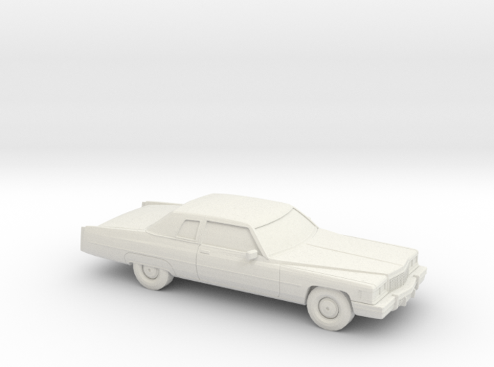 1/87 1975 Cadillac Fleetwood-Brougham Coupe 3d printed