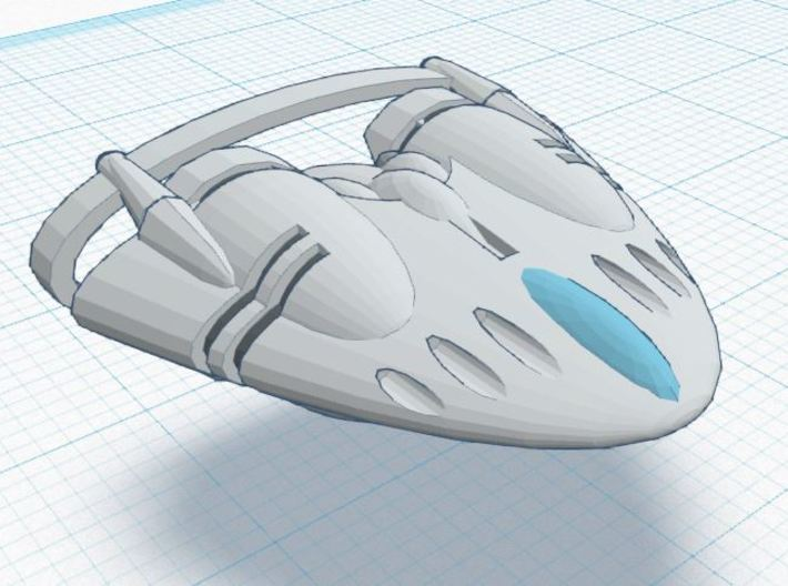 BR-2E Super Heavy 3d printed Tier 3 Heavy Ship REGULATION XIA SPEC