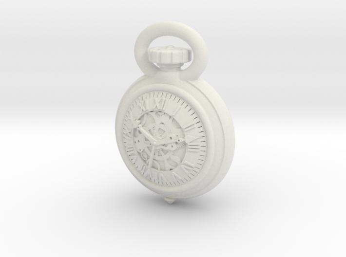 Pocket Watch Half Inch Game Piece 3d printed
