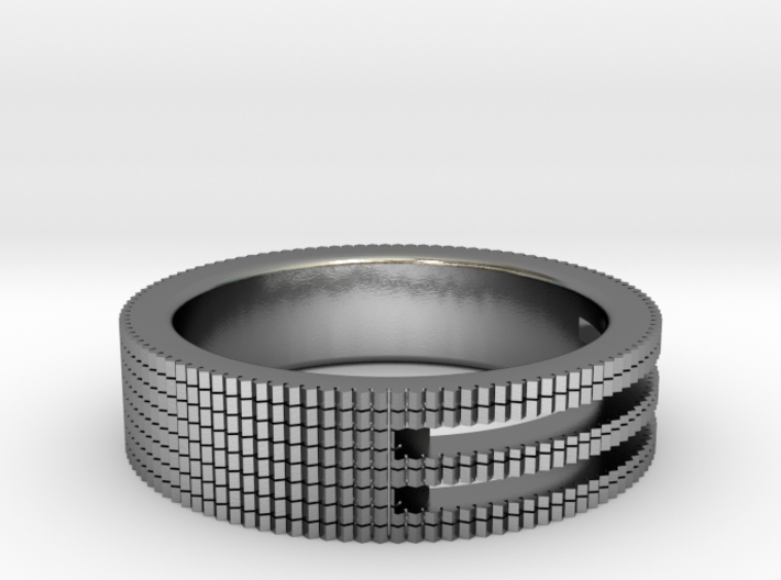 Ø0.687/Ø17.45 mm Prisma Ring 3d printed