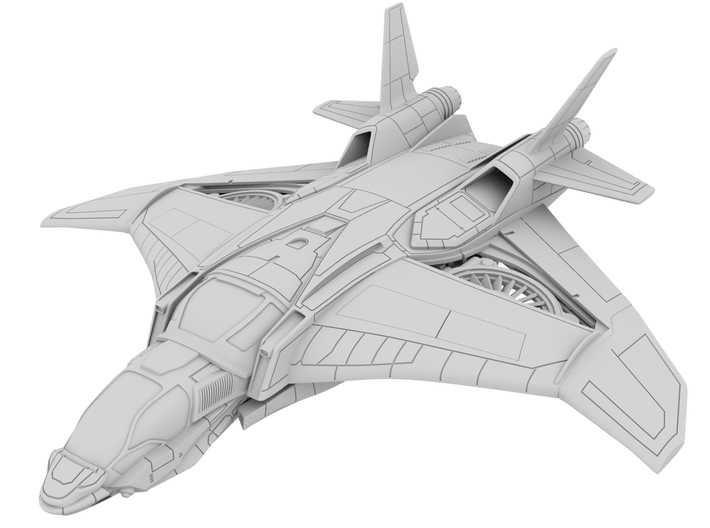 1:72_Ave_Quinjet [x1] 3d printed