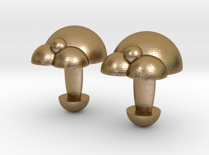 Bubble Cufflinks  3d printed