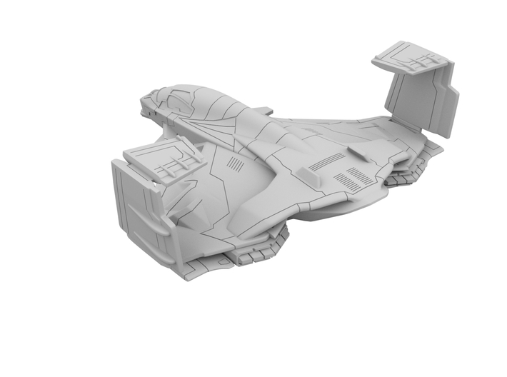 500_AOU_Quinjet_[x2]_Closed Wing 3d printed