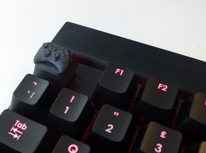 Xbox Cherry MX Keycap 3d printed The XBox keycap in Hi-Def Acrylate