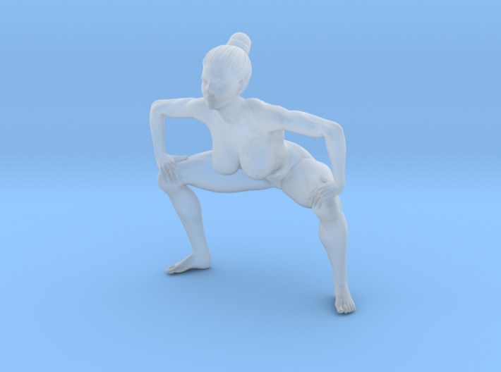 1/24 Fitness Girl 0017 3d printed