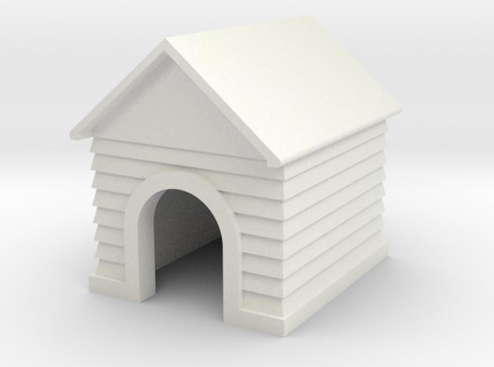 Doghouse Custom Name - 'O' 48:1 Scale 3d printed