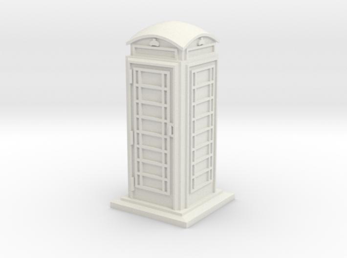 HO/OO Gauge Phone Box 3d printed