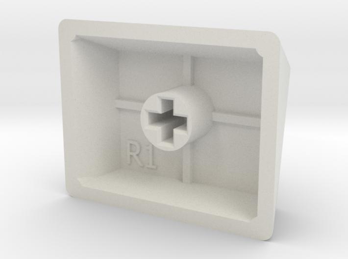 Legend of Zelda - Triforce Keycap (R1, 1.25x) 3d printed