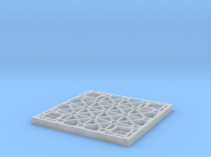 Sulaco floor tile 1/10 scale 3d printed