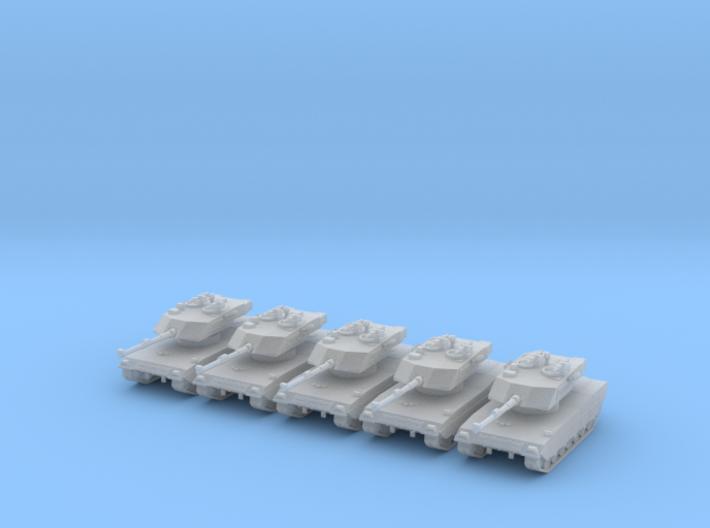 6mm 1/285 Ariete C1 tank X5 3d printed