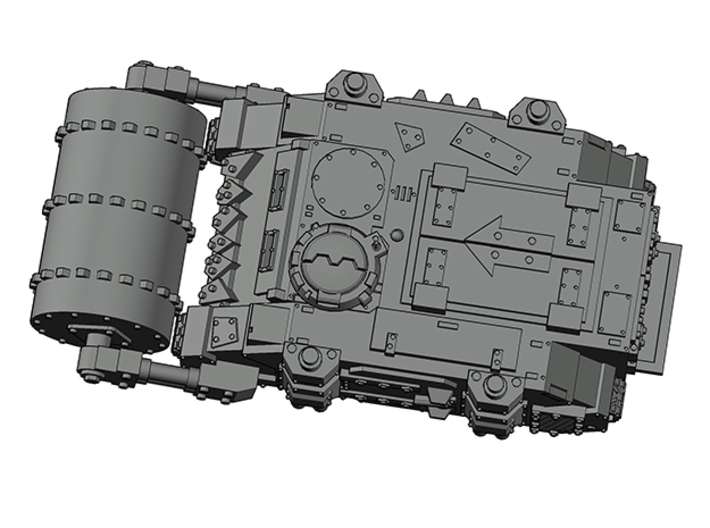 Epic Looted Rhino Tank with Dethrolla 6mm 3d printed