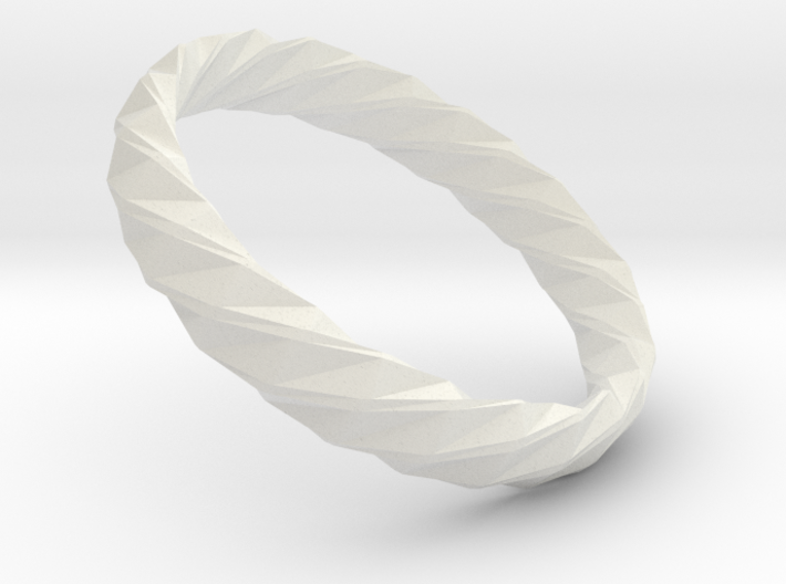 Twistium - Bracelet P=210mm h15 Alpha 3d printed