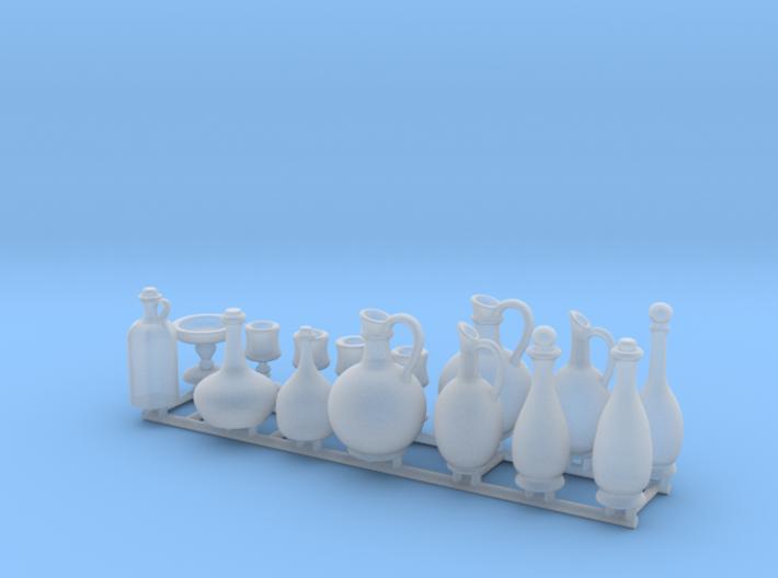Bottle Cup Set 3 3d printed