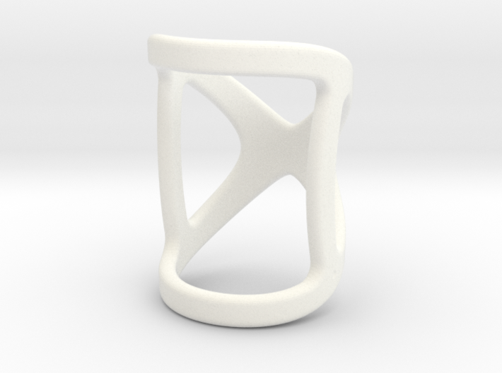 Infinity Ring Splint Size (US) 1.5 - 2.5 Length 21 3d printed