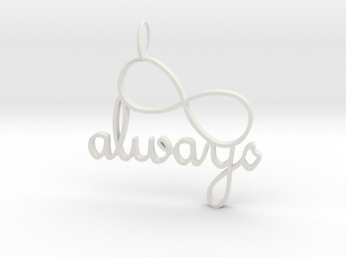 Always Infinity 3d printed