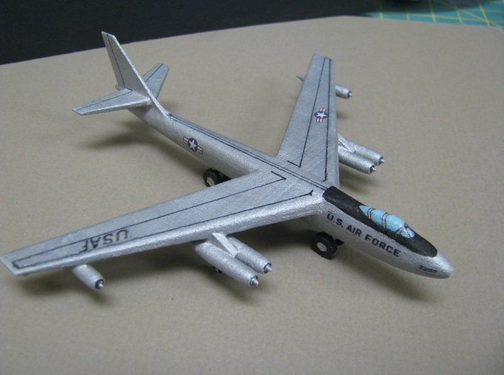 1/285 (6mm) B-47 E Stratojet 3d printed