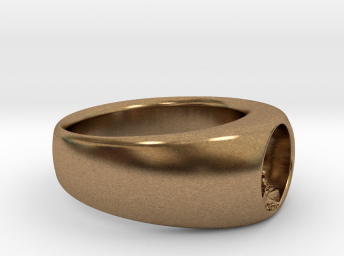 Ø0.716/Ø18.19 mm Buddha RIng 3d printed