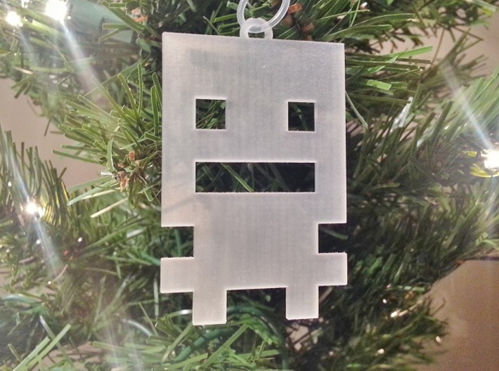 Turbo Buddy Ornament 3d printed Frosted Turbo Buddy
