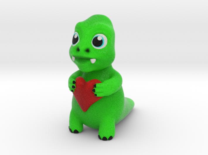 Cute monster 3d printed