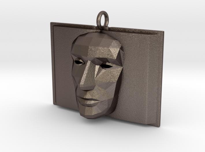 Bookface 3d printed