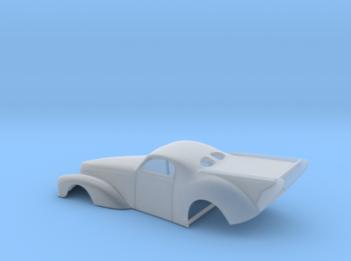 1/64 41 Willys Pro Mod Version II 3d printed