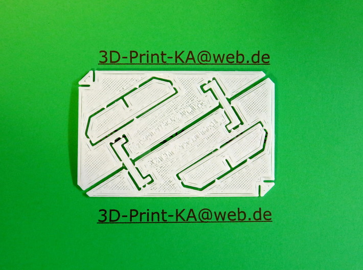 Smartphone (Mobile Phone) Stand Business Card 85x5 3d printed Smartphone (Mobile Phone) Stand Business Card 85x54x1