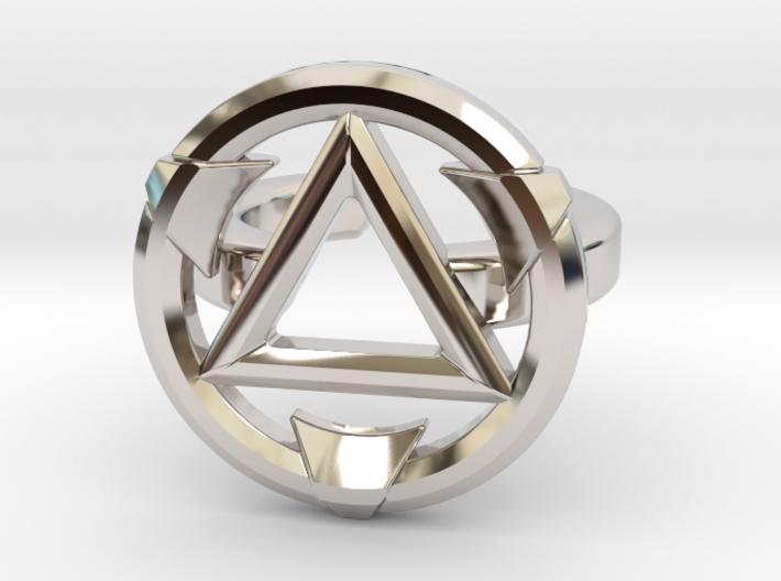 FIRESTARTER SINGLE BAND RING 6.5 3d printed