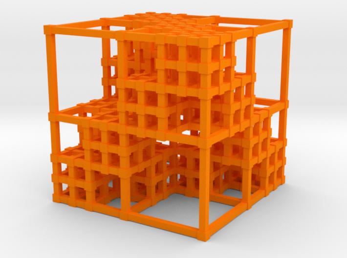 Menger Sponge v3 3d printed