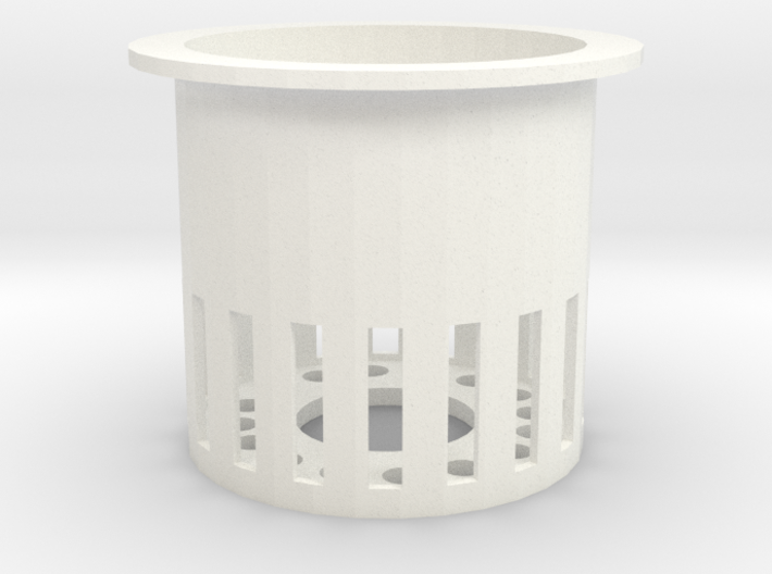 40mm Rockwool Cube Pot 3d printed
