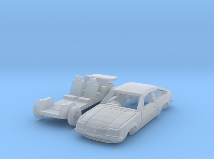 Vauxhall Cavalier Sports Hatch (British N 1:148) 3d printed