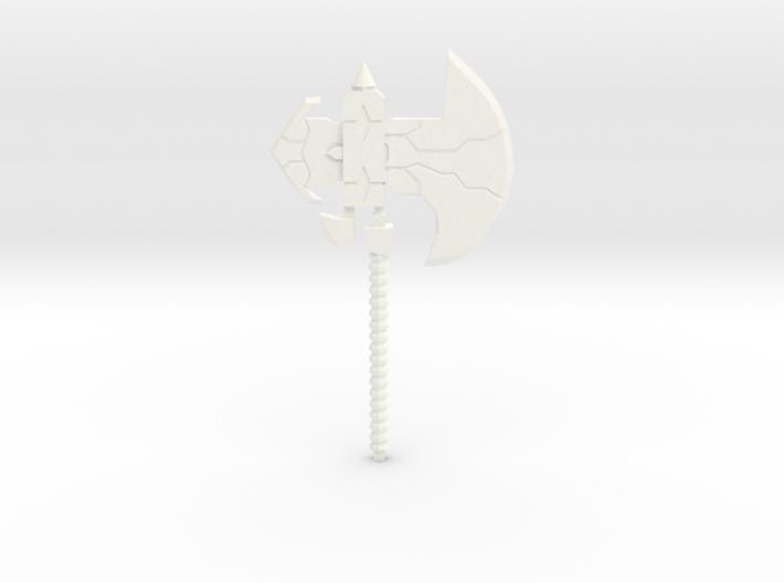 Galvatron's Axe 3d printed