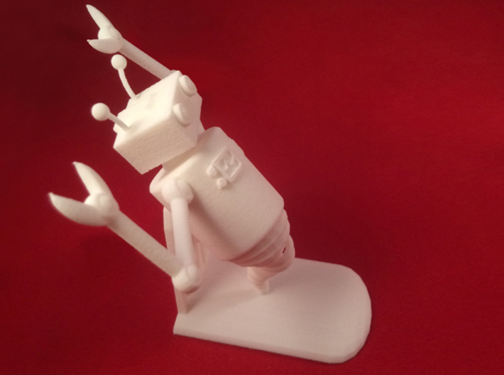 Ghost Robot 3d printed