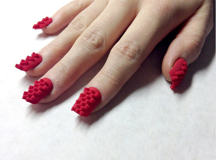 Cube Nails (Size 3) (UAPVFKE9E) by TheLaserGirls