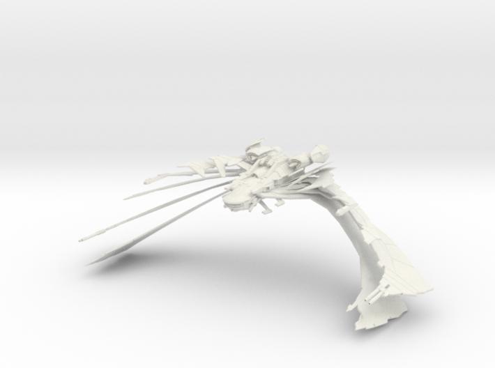 Aehallh Class  NightmareScimitar  BIG  Wings Open  3d printed