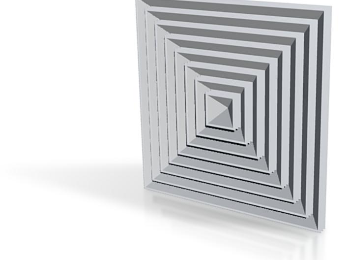 36 Hypercubes Pyramide7 3d printed