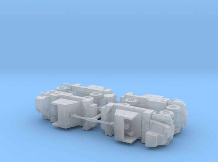 British AEC Deacon 6pdr. Gun Carrier 1/285 6mm  3d printed