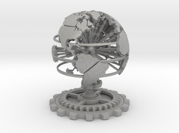 Steampunk World Small 6x6x7 3d printed