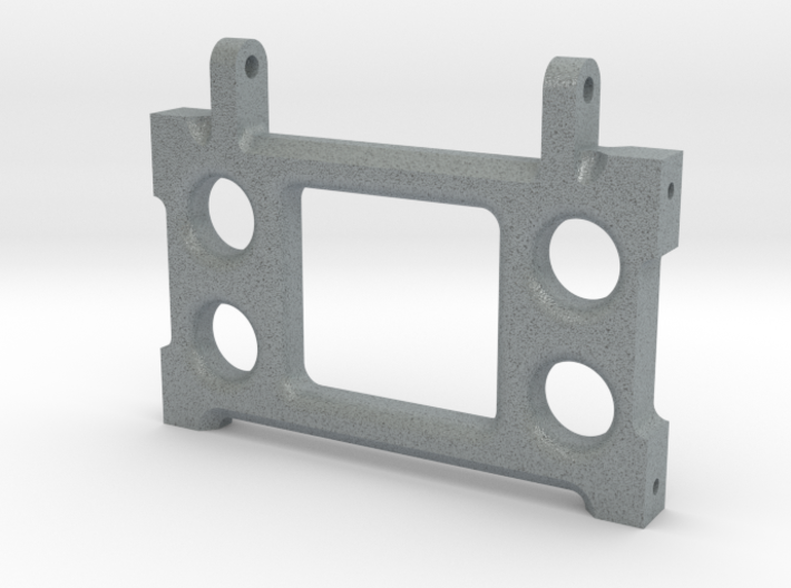 6X6 & 8X8 CENTER AXLE FOUR LINK REAR CROSSMEMBER 3d printed