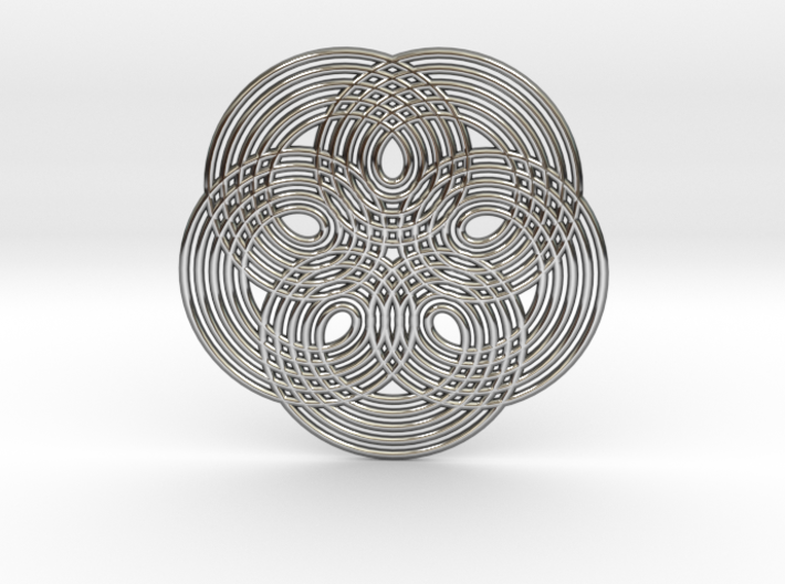 0537 Motion Of Points Around Circle (5cm) #014 3d printed