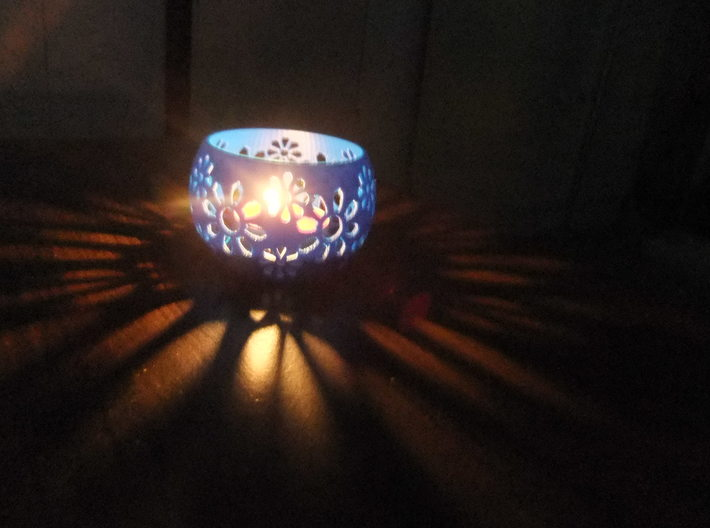 Tea light/Candle Holder 3d printed