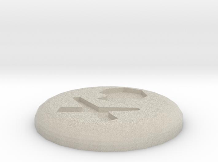Death Rune 3d printed