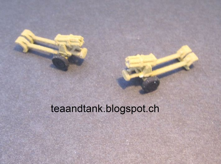 1/144 Nebelwerfer rocket launcher (set of three) 3d printed
