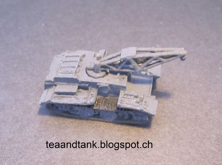 1/144 crane for Panzer I special version 3d printed