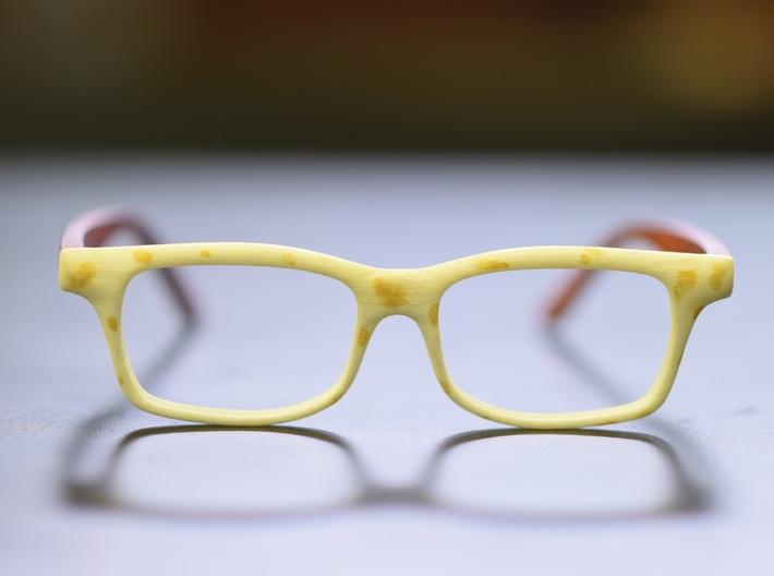 Optoid Hybrid MkXII: Custom Fit Rx Eyewear 3d printed