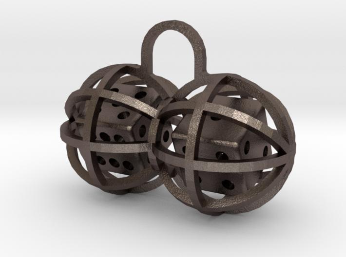 Charm: Lucky Balls 3d printed