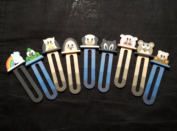 bookmark - S49 - thinking! 3d printed