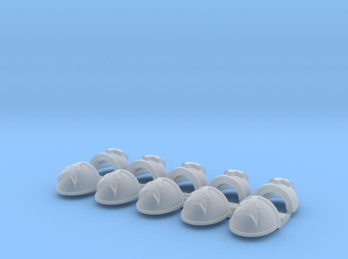 Wolf Head- Gen4:Maximus Shoulder x10 3d printed
