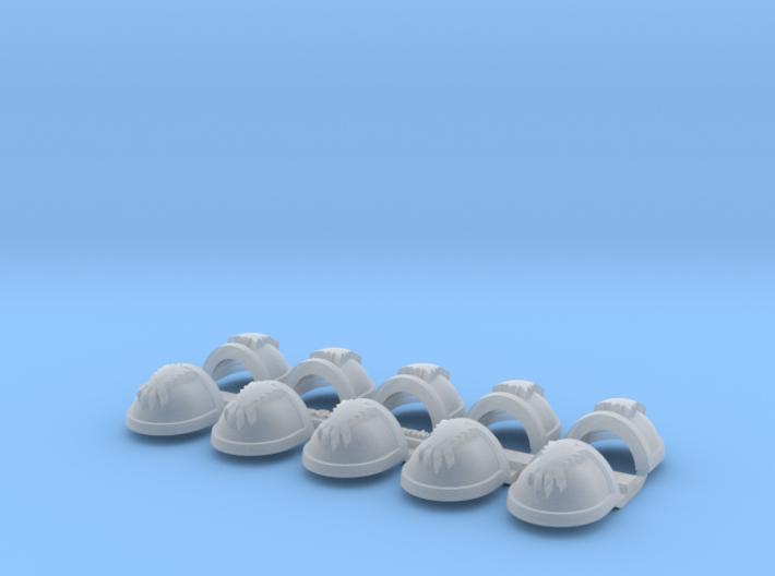 Long Fang Paw- Gen7:Standard Shoulder x10 3d printed