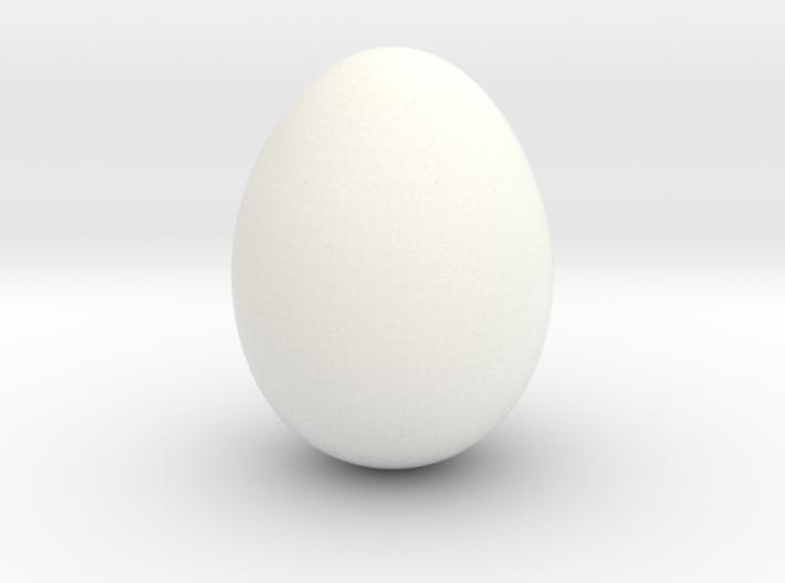 Serama Egg 3d printed